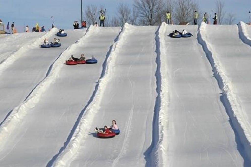 Big Boulder ski resort minutes away