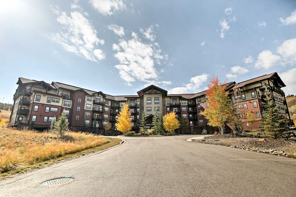 You'll have access to dozens of complex amenities just below the ski resort!