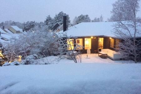 Winter&summer holiday in Stockholm - Täby