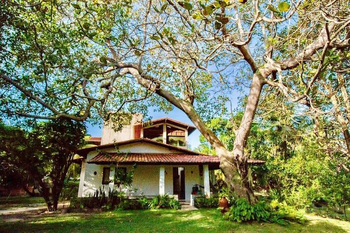 Uma casa no meio do mato