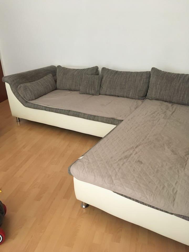 2 möblierte ZimmerWohnung , furnished apartment
