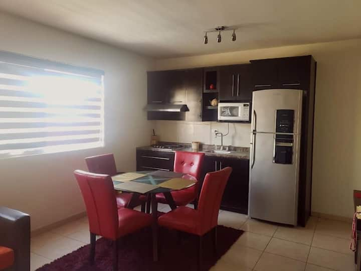 Fully equipped individual apartment (Airport)