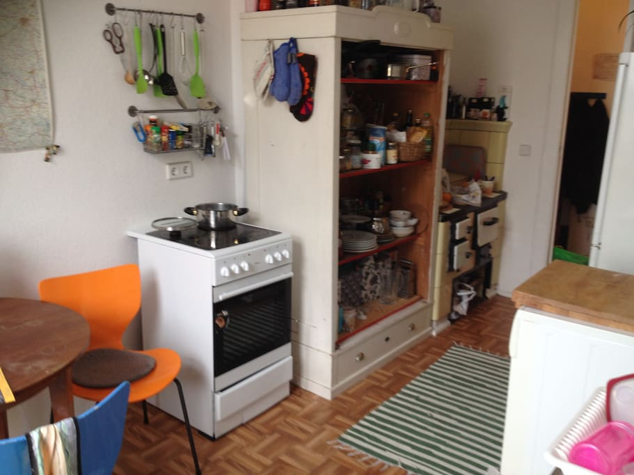 Our boheme kitchen! Hang arround and make youreself some nice food!