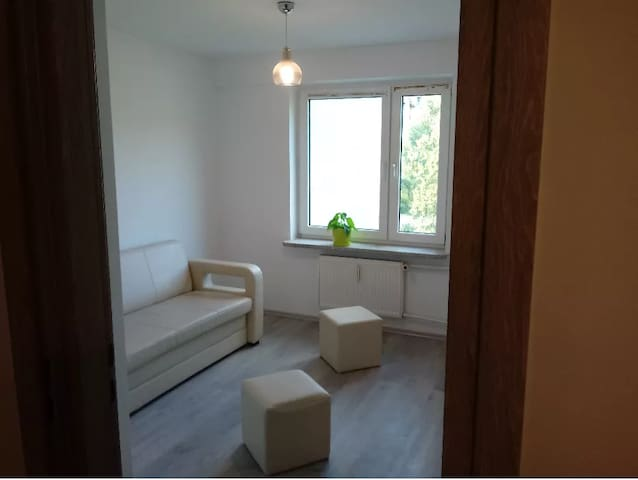 Nietuzinkowe mieszkanie dla 4 osób:)