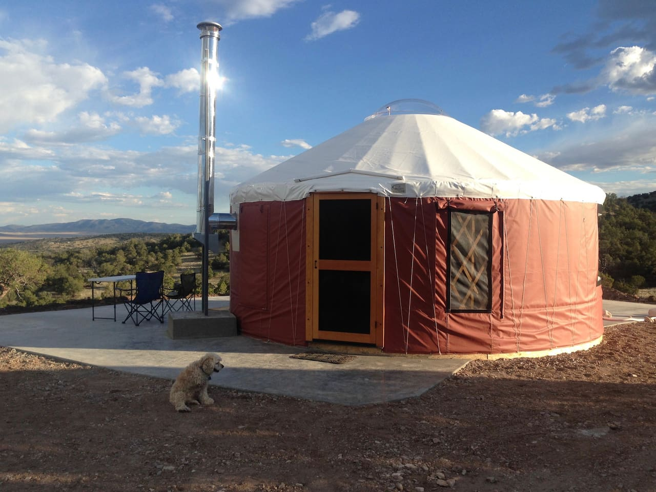 Yurt with a View!