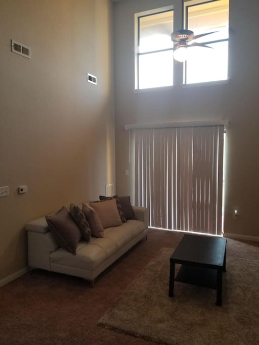 Living Room plus outside balcany