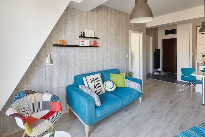 New apt - beautiful part of center! - Skopje - Apartemen