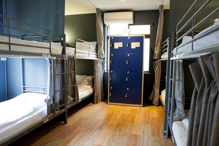 日月潭玥湖背包客讚民宿-男性背包客8人房(Male 8-bed Dormitory)