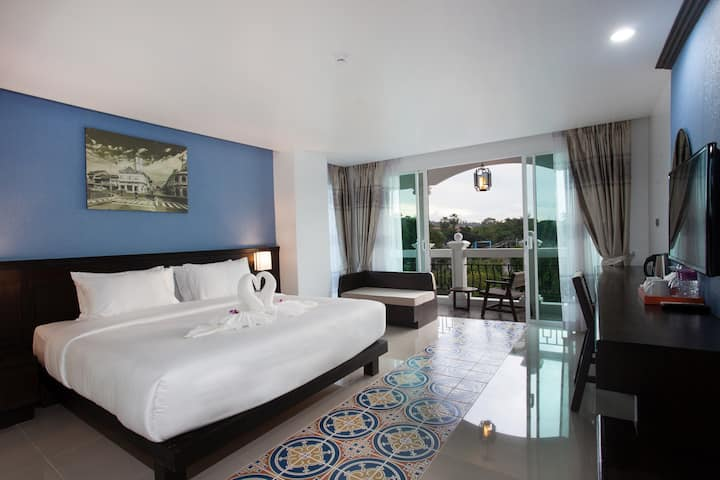 Perfect for Couple ☆Pool View☆ Phuket City Center