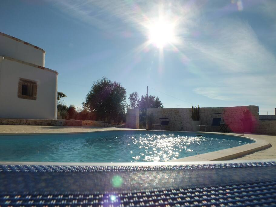 Trullolive - piscina