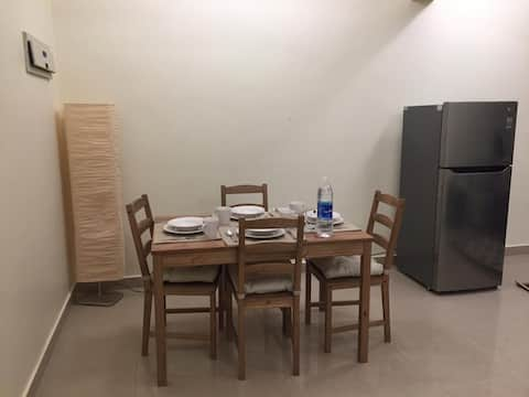 Domowy apartament służbowy i wypoczynkowy
