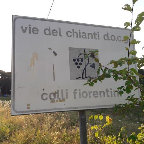 Casetta nel Chianti fiorentino - Malmantile