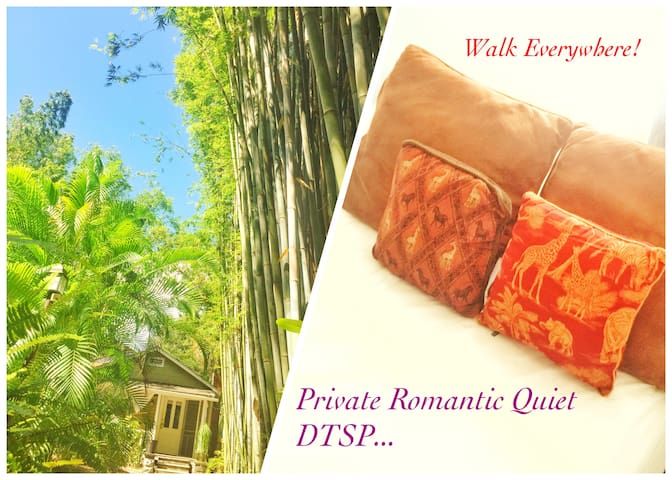 Romantic Private DTWN Lil House | Walk Everywhere!