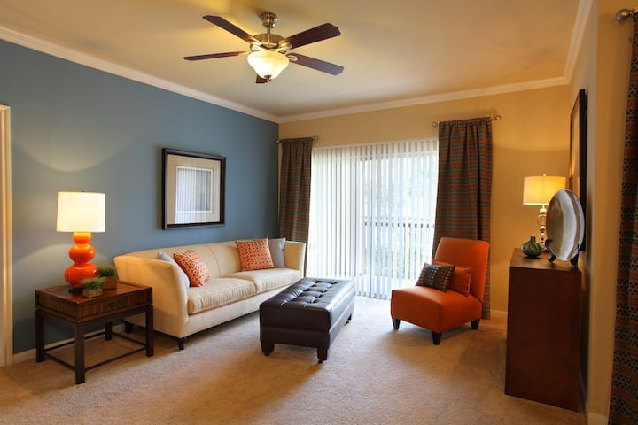 Everything you need | 1BR in San Antonio