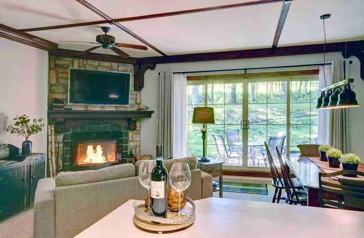 ★Cosy 1bdr Condo, 2min from Tremblant Resort★