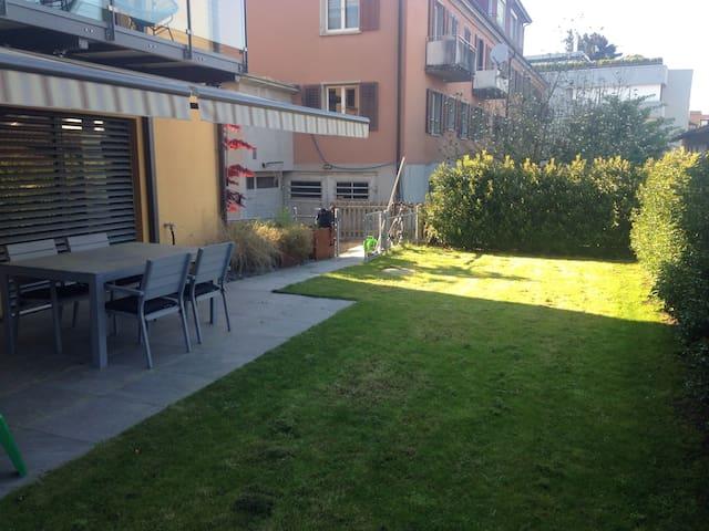 4.5 Bedroom Apart -Garden + Terrace - Zürich - Appartement