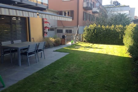 4.5 Bedroom Apart -Garden + Terrace - Zurich - Apartmen