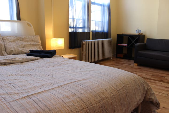 BIG Brooklyn bedroom near subway/Prospect Park - Brooklyn - Apartment