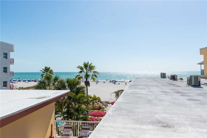 Gulf Views From Covered Balcony - Upgraded Kitchen & Bath w/ Tropical Decor  - Free Wifi  - #333 Surf Song Resort