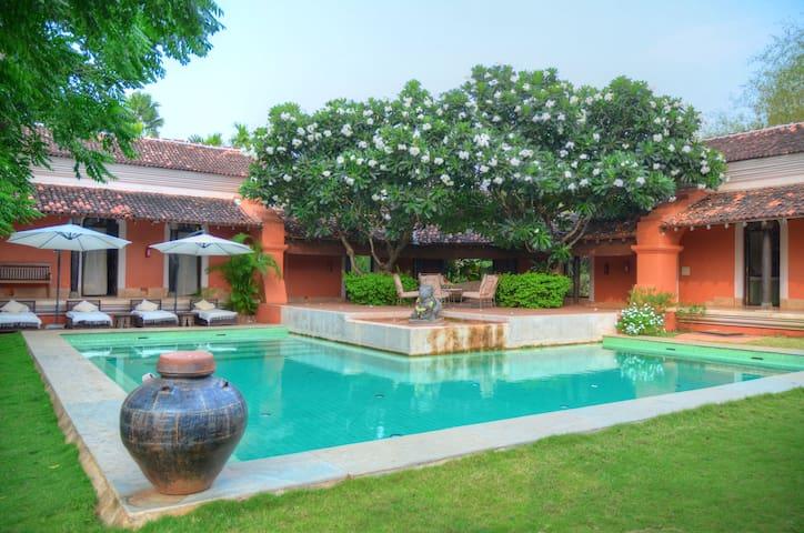Padimunu Villa 3 BHK Private pool @ Avanilaya. - Aldona - Villa
