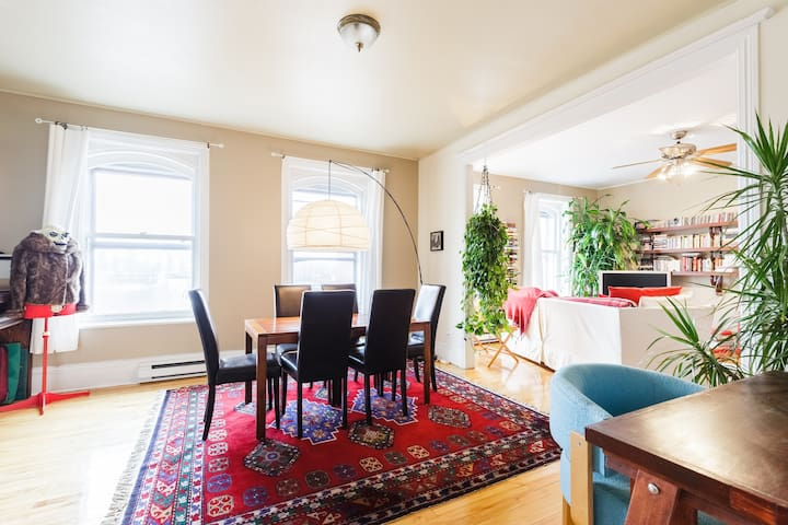 Spacious and bright apartment on St-Vallier Street - Ville de Québec - Apartment