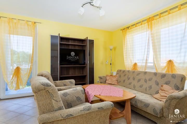 67 Holiday Home-Apartament z 1 sypialnią balkonem