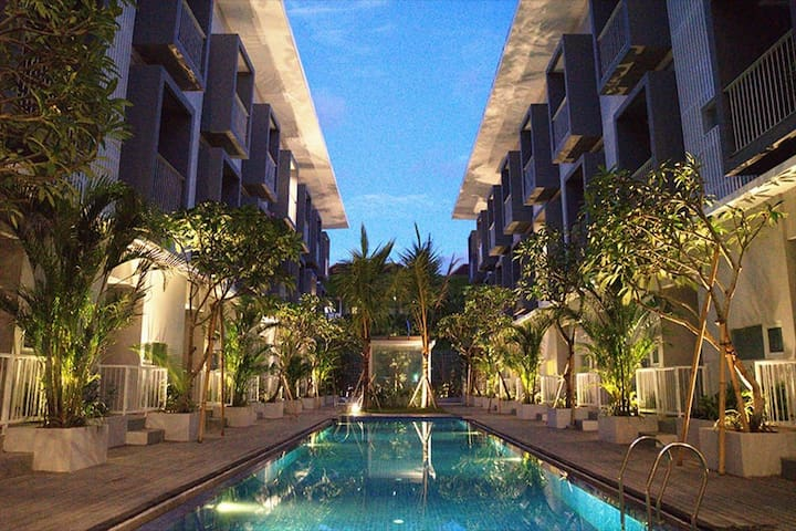 Luxury Studio Apartment at Downtown Legian II