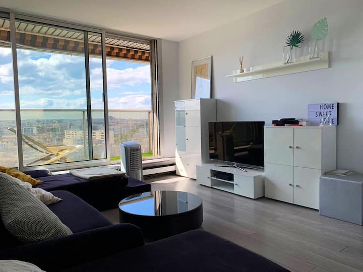 Appartement avec la plus belle vue de Paris