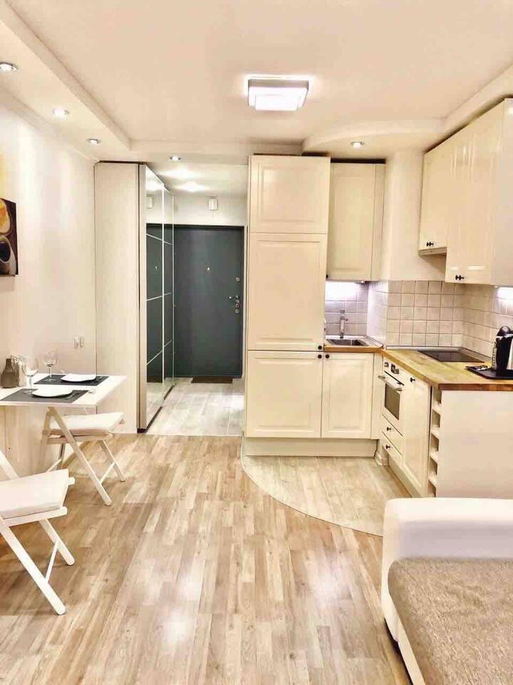 Уютная Квартира  у метро Беговая