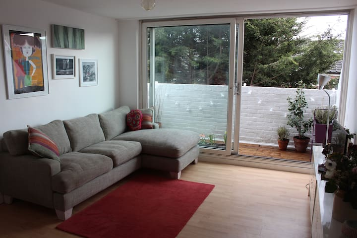Sunny, spacious, modern flat - London - Apartment