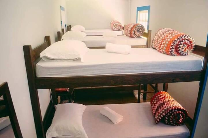 Hostel Casa Solar - Quarto Compartilhado.