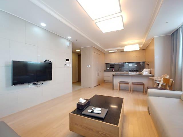 [Haeundae Beach Suite]Great View&1 minute to Beach