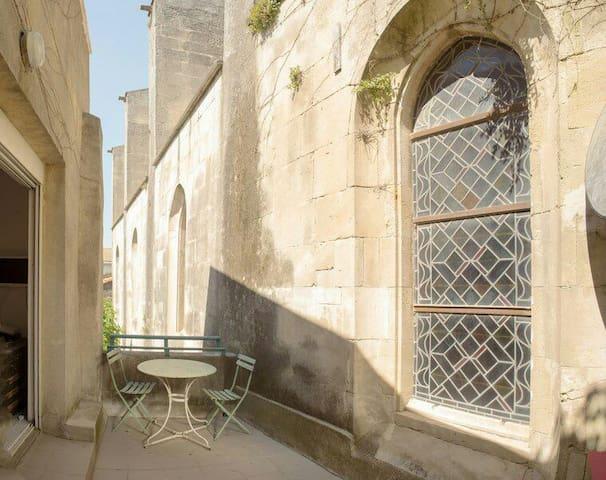 Studio avec terrasse centre ancien
