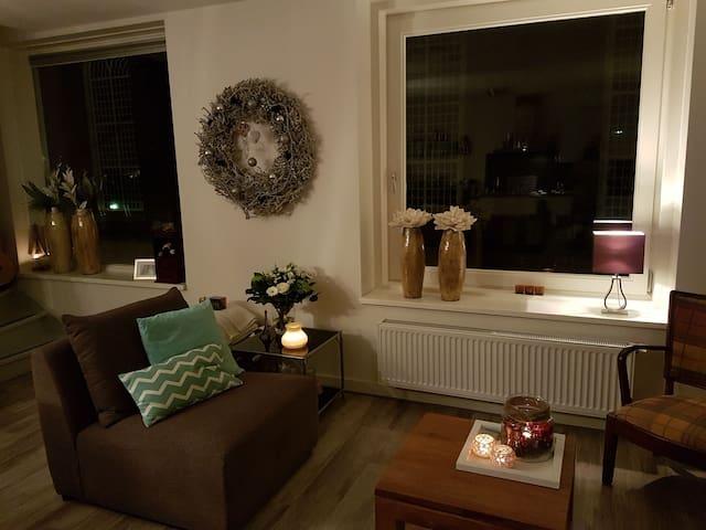 Ruim appartement in hartje Kampen. - Kampen - Lägenhet