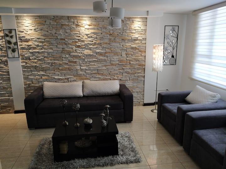Habitación acogedora en casa