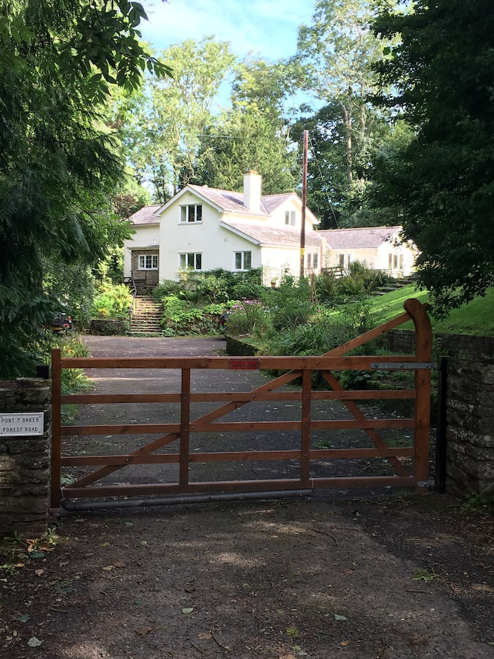 Peaceful self-contained suite, close to Hay-on-Wye