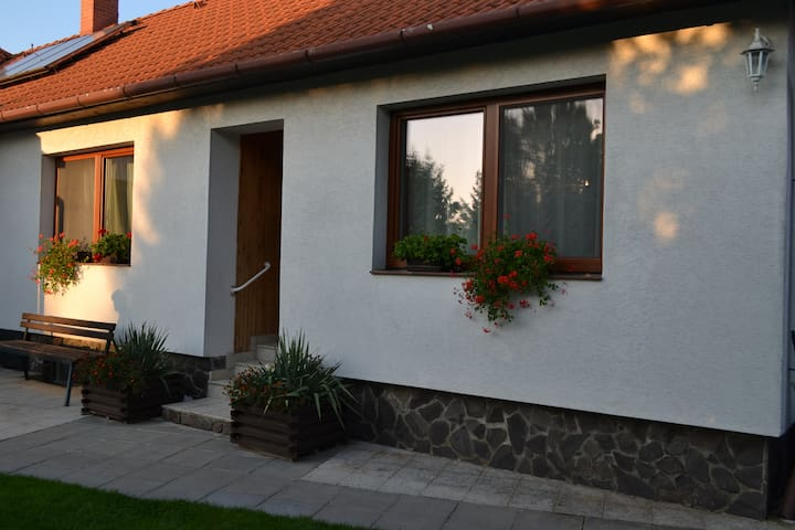 Living in semi-detached house near Nitra