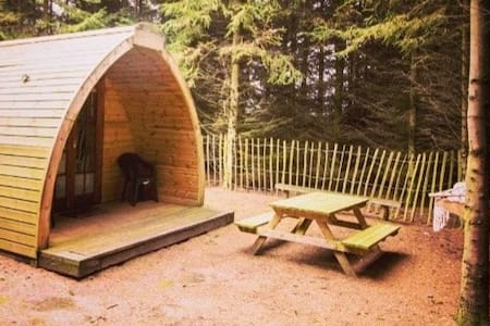 Secluded Glamping Pod- The Ark