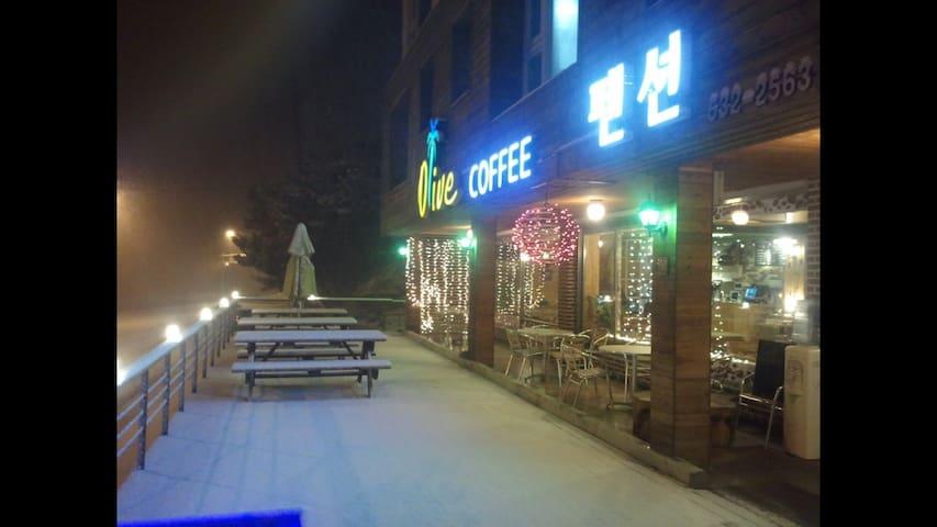 Donghae Olive Pension for 6 people - Donghae-si - Kondominium