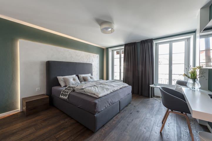 wolke4 guesthouse Doppelzimmer - Büren an der Aare - Boutique hotel