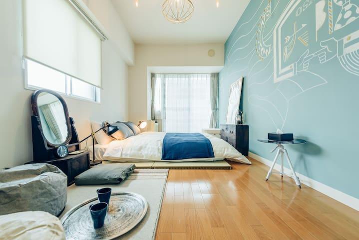 Web Designer's Room/Great location/OSAKA CENTRAL