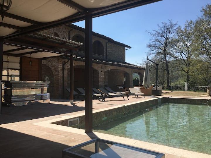 Villa privata incantevole piscina è Idromassaggio