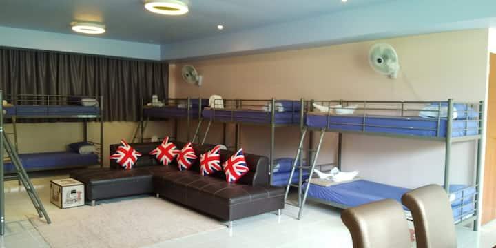 Phuket Wake Park Hostel one bed
