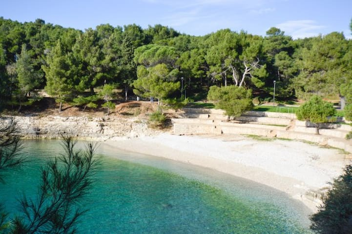 Great beach just 150 m from app