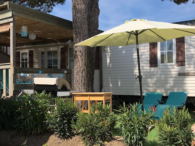 TOP, Pampelonne,  De PARASOL Mobile home