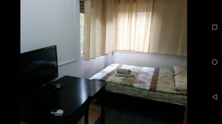 Technion - Private en-suite bedroom with balcony