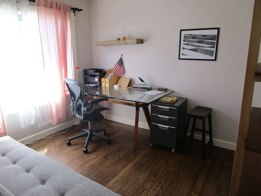 Office with futon