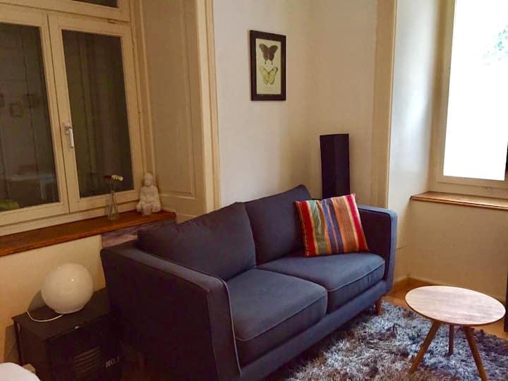 Your own apartment in Zurich center