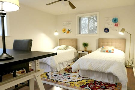 Private and Spacious Eclectic Flat in Sandusky