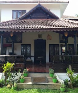 Authentic Luxurious Kerala Home - Thiruvananthapuram